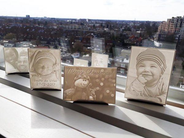 3D Print Foto's op de vensterbank in de zon